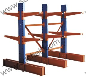Long Goods Handling Rack Cantilever Racking Manufacturer