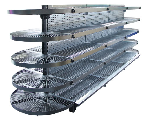 wire gondola shelving