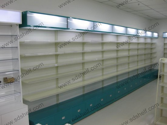pharmacy shelving systems