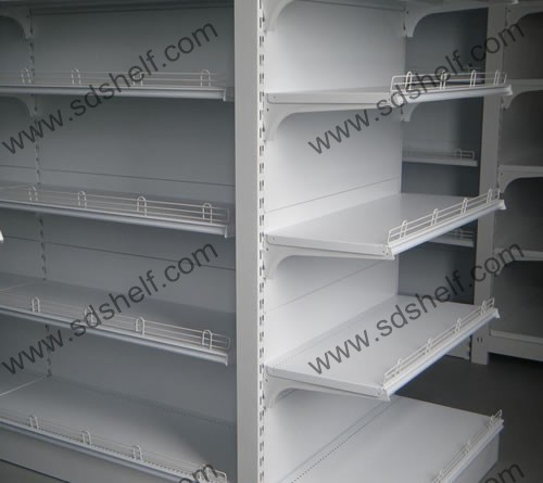 Gondola Shelf Stopper Shelf Fence For Sale Manufacturer